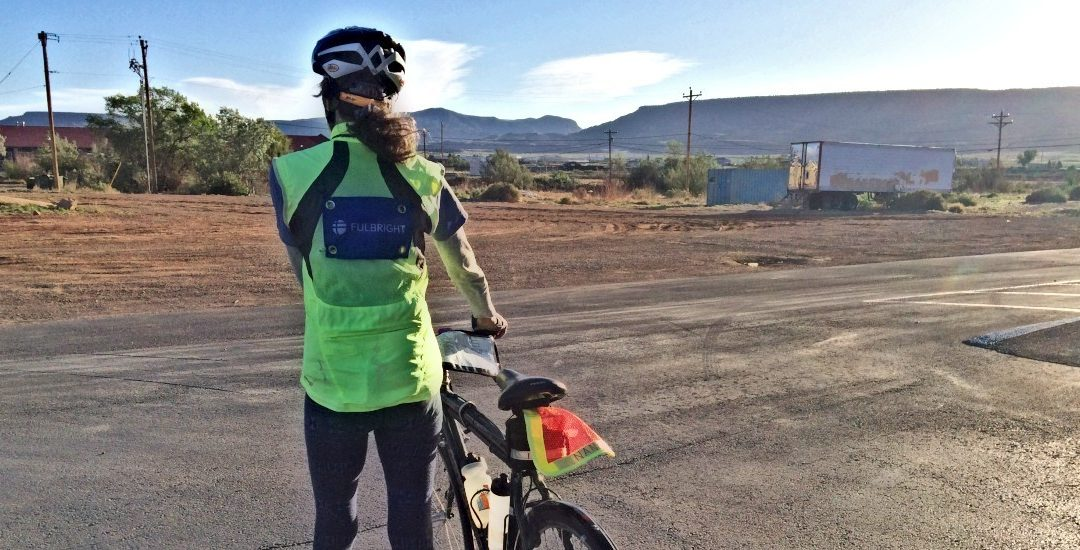 Nan Rides for Fulbright: An Update
